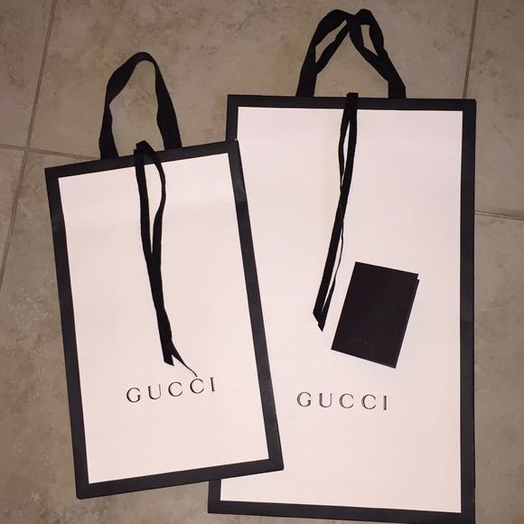 buy gucci paper bag